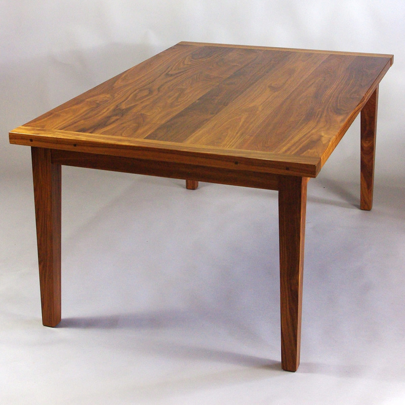 Fine Woodworking Dining Room Tables Black Walnut Dining Table Rugged Cross Fine Art Woodworking